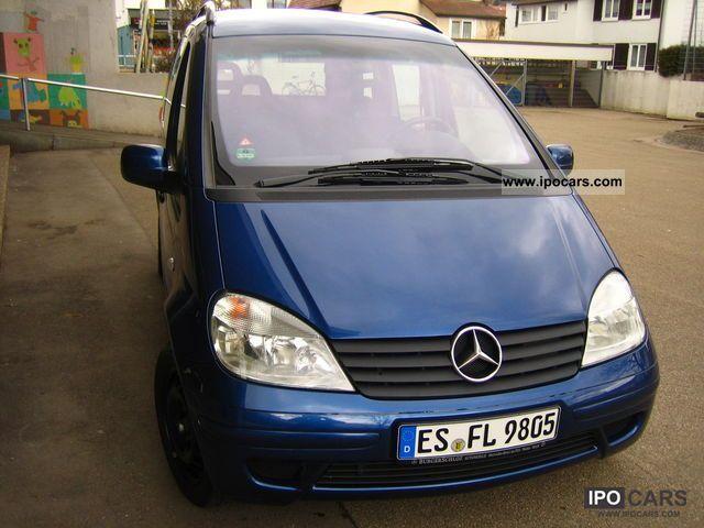 2002 Mercedes-Benz  Vaneo 1.6 Ambiente Van / Minibus Used vehicle photo