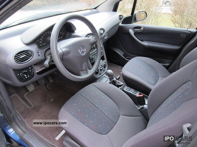 2002 Mercedes Benz A 160 Classic Car Photo And Specs