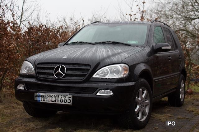 2003 mercedes benz ml 270 cdi car photo and specs. Black Bedroom Furniture Sets. Home Design Ideas
