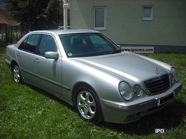 2000 mercedes benz e 270 cdi elegance facelift top condition car photo and specs. Black Bedroom Furniture Sets. Home Design Ideas