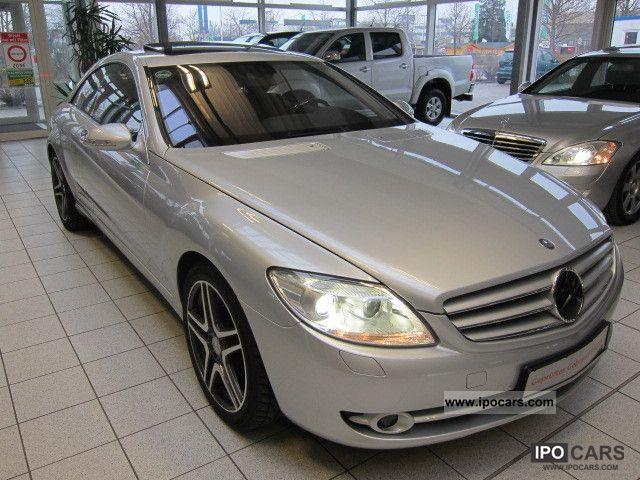 2007 mercedes benz cl 500 night vision camera keyless go for Mercedes benz night vision