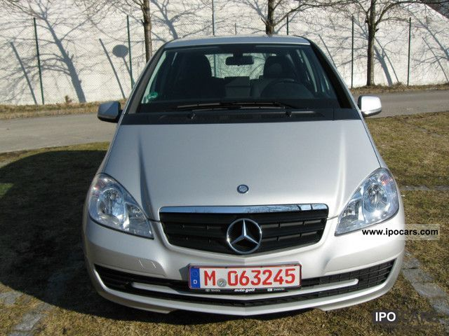2010 Mercedes-Benz  A 160 CDI BlueEFFICIENCY DPF EURO 5 - 1 HAND Limousine Used vehicle photo