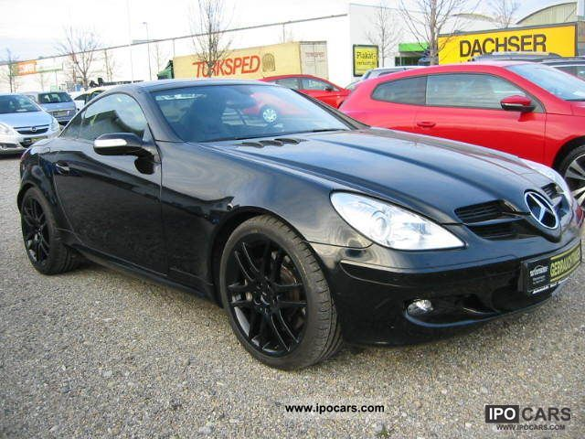 2005 mercedes benz slk 350 7g tronic 0 1 manual automatic. Black Bedroom Furniture Sets. Home Design Ideas