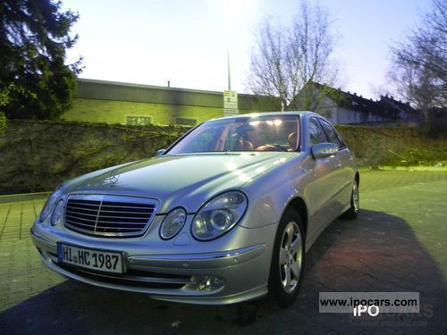 2004 mercedes benz e 270 cdi car photo and specs. Black Bedroom Furniture Sets. Home Design Ideas
