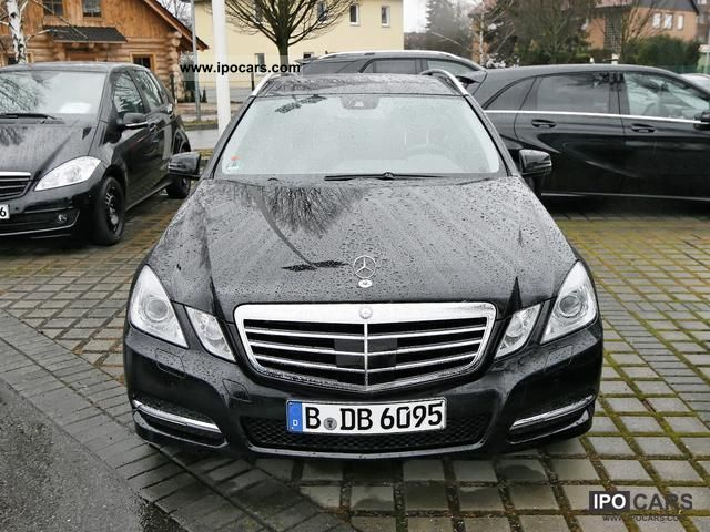 2011 mercedes benz e 350 cdi 4matic avant memory pdc car. Black Bedroom Furniture Sets. Home Design Ideas