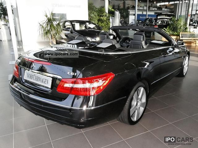 2011 mercedes benz e 200 cgi blueeff convertible sitzhzg pdc car photo and specs. Black Bedroom Furniture Sets. Home Design Ideas