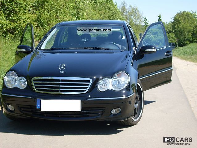2005 mercedes-benz c 180 kompressor avantgarde - car photo and specs