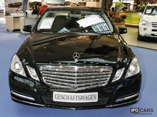 Mercedes-Benz  E 200 NGT natural gas BlueEFF. Elegance Sitzhzg. 2011 Compressed Natural Gas Cars (CNG, methane, CH4) photo