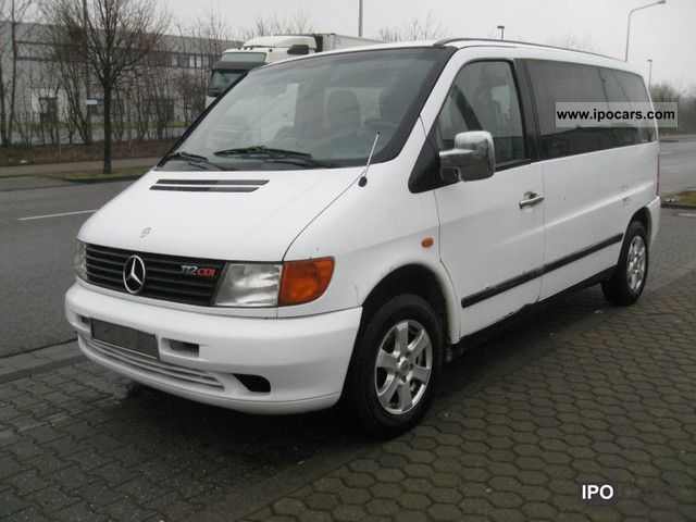 2000 Mercedes-Benz  Exh Vito 112 CDI L air / aluminum / wood. 8 seats Van / Minibus Used vehicle photo