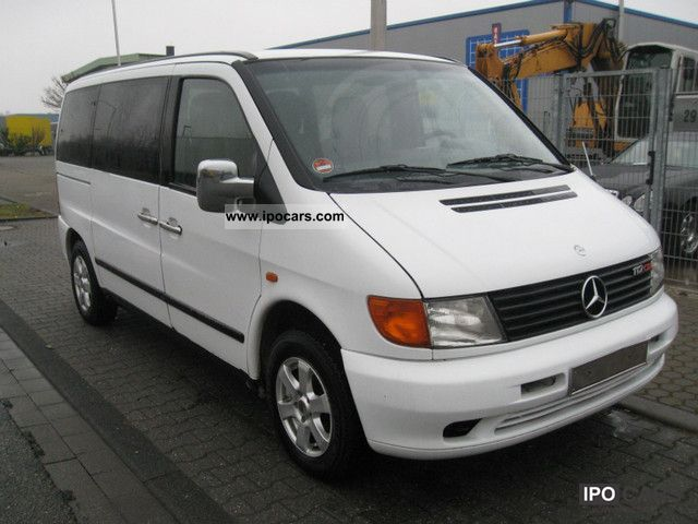2000 mercedes benz exh vito 112 cdi l air aluminum wood 8 seats car photo and specs. Black Bedroom Furniture Sets. Home Design Ideas