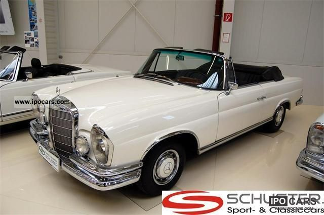 1963 Mercedes-Benz  220 SEb Convertible Cabrio / roadster Used vehicle photo