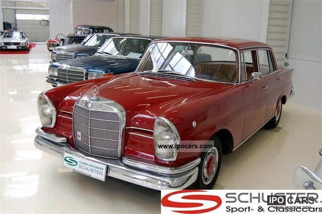 Mercedes-Benz  220 S tail fin 1964 Vintage, Classic and Old Cars photo