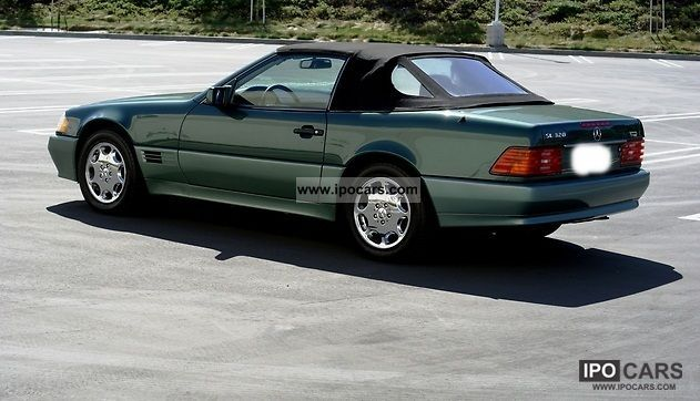 1994 mercedes benz sl 320 24v car photo and specs. Black Bedroom Furniture Sets. Home Design Ideas
