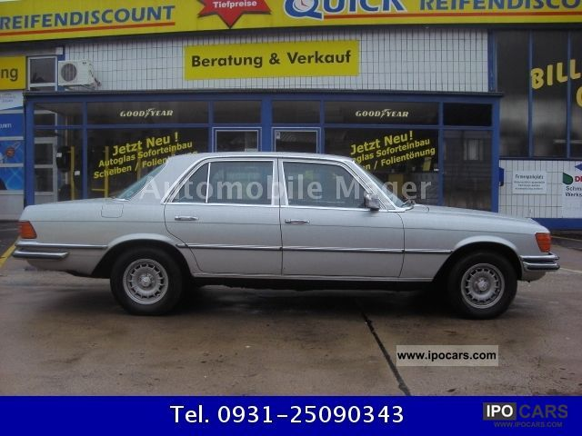 Mercedes-Benz  350 SE AIR CLASSIC CARS * NEW * TUV * H PLATE 1976 Vintage, Classic and Old Cars photo