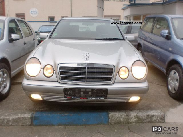 1998 Mercedes-Benz  E 200 + Classic + automatic navigation systems Limousine Used vehicle photo