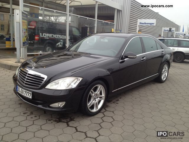 2006 mercedes benz s 320 cdi long dpf 7g tronic car photo and specs. Black Bedroom Furniture Sets. Home Design Ideas