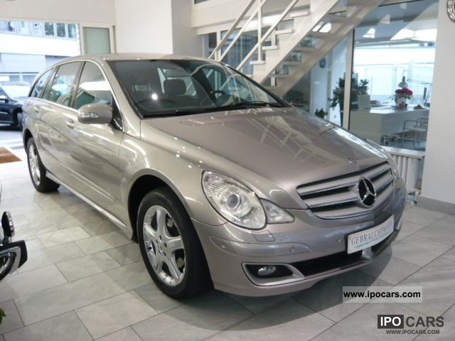 2006 mercedes benz r 320 cdi l 4matic 7g tronic dpf car. Black Bedroom Furniture Sets. Home Design Ideas