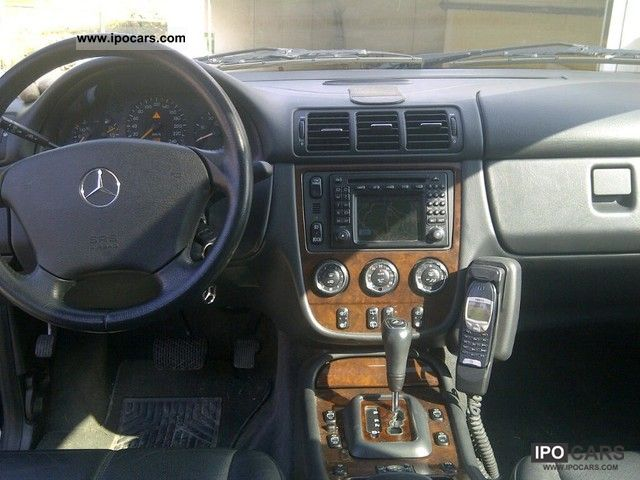 2002 Mercedes Benz Ml 270 Cdi Car Photo And Specs
