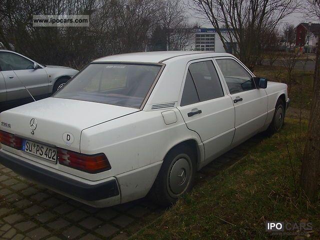 1991 Mercedes Benz 190 D Car Photo And Specs