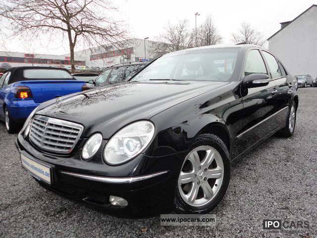 2005 mercedes benz e 220 cdi elegance auto dpf el gsd car photo and specs. Black Bedroom Furniture Sets. Home Design Ideas