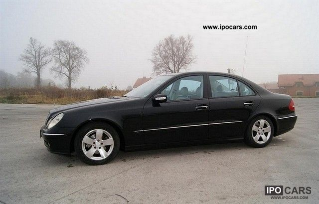 2001 mercedes benz e 270 cdi car photo and specs. Black Bedroom Furniture Sets. Home Design Ideas