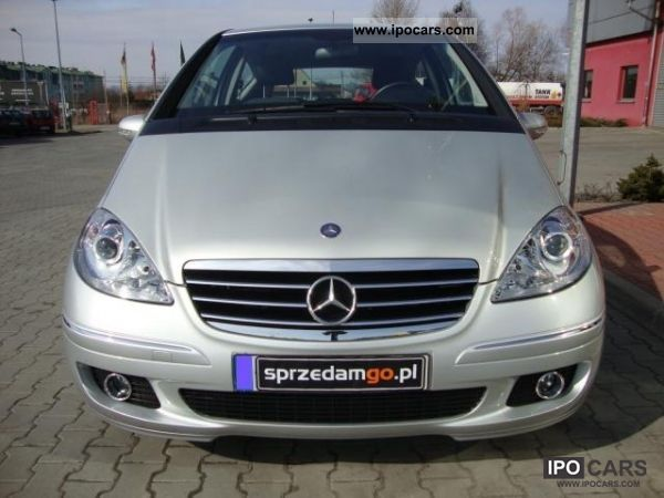 2006 mercedes benz a 150 avantgarde sprzedamgo car photo and specs. Black Bedroom Furniture Sets. Home Design Ideas