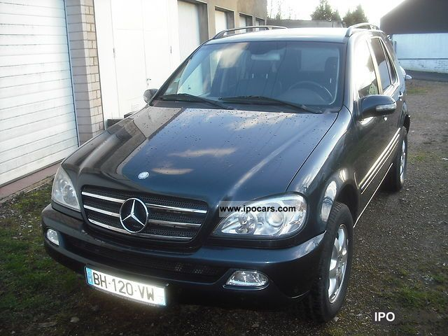 2003 mercedes benz ml 400 cdi car photo and specs. Black Bedroom Furniture Sets. Home Design Ideas