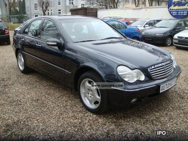 2000 mercedes benz c 240 elegance car photo and specs for Mercedes benz c 240