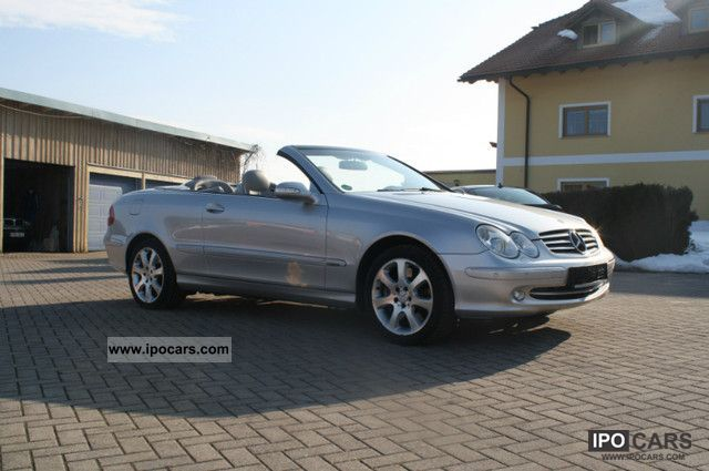 2003 mercedes benz clk 500 elegance car photo and specs for 2003 mercedes benz clk