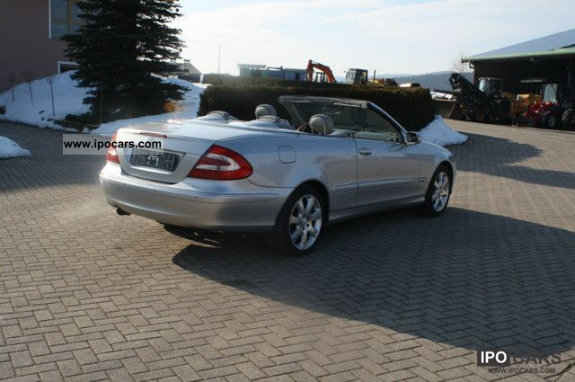2003 Mercedes Benz Clk 500 Elegance Car Photo And Specs