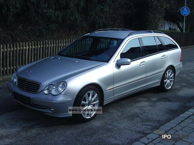 2002 mercedes benz c 270 t cdi avantgarde car photo and specs. Black Bedroom Furniture Sets. Home Design Ideas