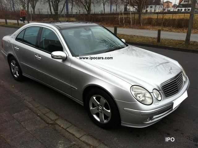 2002 mercedes benz e 320 cdi avantgarde view full leather for Mercedes benz leather