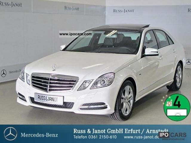 2012 Mercedes-Benz  E 200 CGI BE Avantgarde Comand panoramic roof ILS Limousine Demonstration Vehicle photo