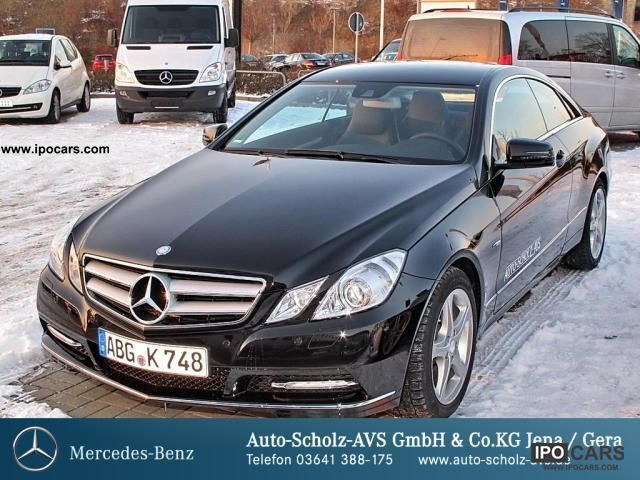 2012 Mercedes Benz E 220 Cdi Coupe Be Park Assist Bi Xenon