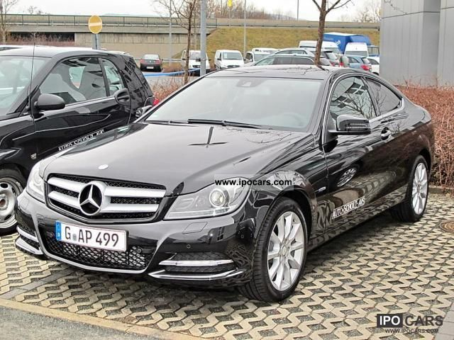 2012 mercedes benz be c 180 coupe park assist bi xenon car photo and specs. Black Bedroom Furniture Sets. Home Design Ideas