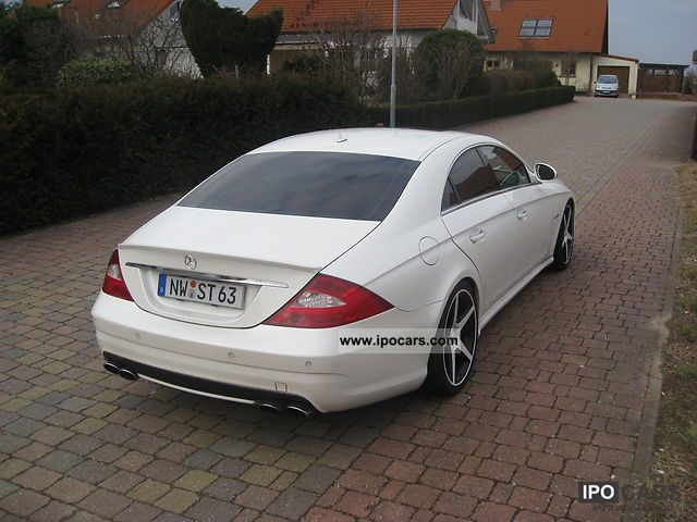 2007 mercedes benz cls 63 amg 7g tronic incl garantie car photo and specs. Black Bedroom Furniture Sets. Home Design Ideas