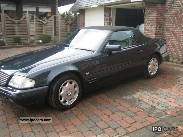 1998 mercedes benz sl 320 car photo and specs. Black Bedroom Furniture Sets. Home Design Ideas