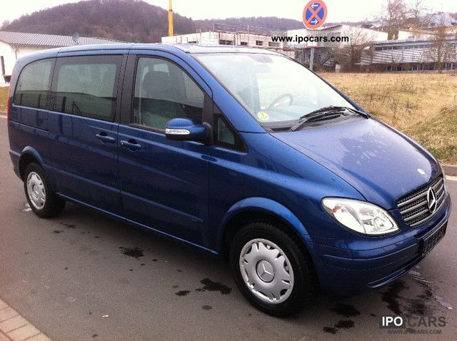 2004 mercedes benz viano 2 2 cdi trend 6 seater air spring for Mercedes benz 2 seater