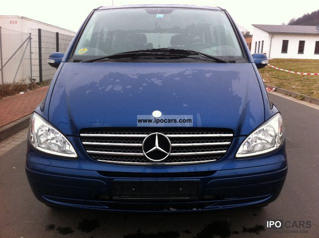 2004 mercedes benz viano 2 2 cdi trend 6 seater air spring. Black Bedroom Furniture Sets. Home Design Ideas
