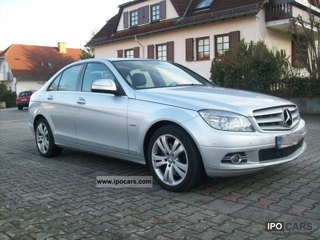 2008 mercedes benz c 320 cdi avantgarde dpf navigation car photo and specs. Black Bedroom Furniture Sets. Home Design Ideas