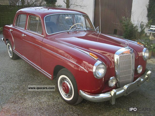 Mercedes-Benz  220S Ponton 1957 Vintage, Classic and Old Cars photo