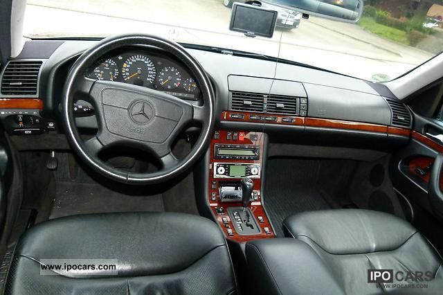 1998 Mercedes Benz S 320 With Lpg Car Photo And Specs