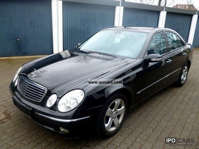 2004 mercedes benz e 200 cdi avantgarde automatic green sticker car photo and specs. Black Bedroom Furniture Sets. Home Design Ideas