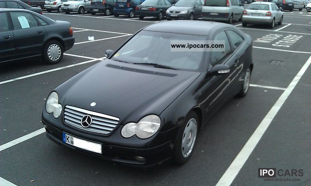 2002 mercedes benz c 220 cdi sports coupe car photo and specs. Black Bedroom Furniture Sets. Home Design Ideas