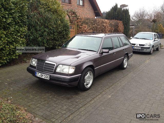 1993 Mercedes-Benz  W124 T with APC approval before 2013 Estate Car Used vehicle photo