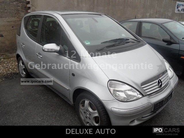 2003 mercedes benz a 170 cdi car photo and specs. Black Bedroom Furniture Sets. Home Design Ideas