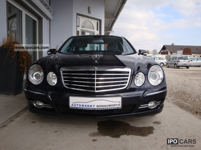 2009 mercedes benz e 220 cdi avantgarde dpf automatic xenon command car photo and specs. Black Bedroom Furniture Sets. Home Design Ideas