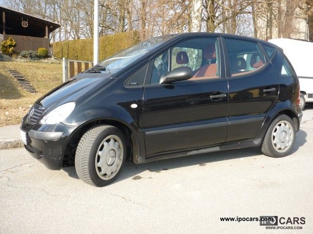 2002 mercedes benz a 160 cdi classic car photo and specs. Black Bedroom Furniture Sets. Home Design Ideas