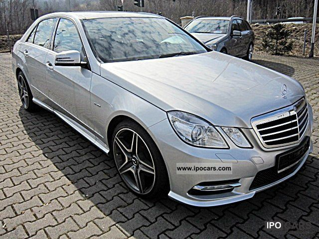 2011 Mercedes Benz E 250 Cdi 4matic Amg Styling Comand