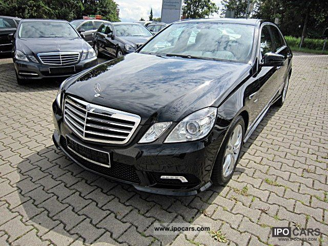 2011 mercedes-benz e 220 cdi avantgarde amg styling auto - car